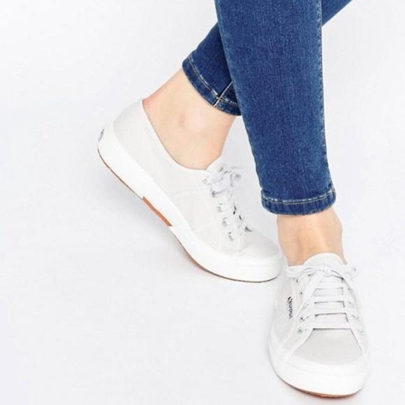 Superga Shoes | Light Grey Superga Cotu